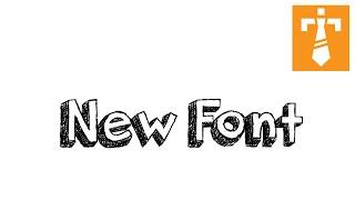Illustrator Tutorial - Add Fonts to Illustrator
