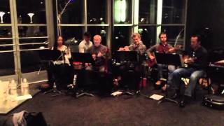 The members of Choro Nashville are seen and heard in this montage of musical performances in the cafe at the Frist Art Museum.  (thumbnail)