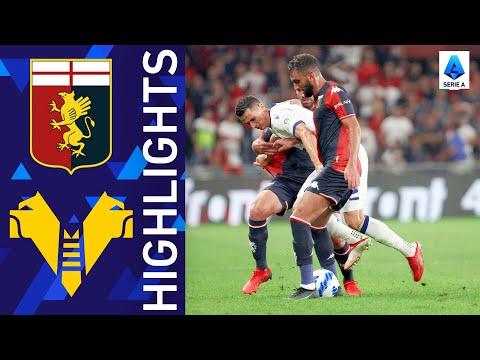 Genoa Helas Verona Goals And Highlights