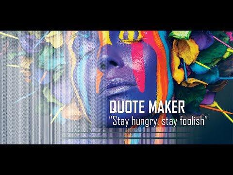 Quote Maker Quote Creator YouTube Interesting Picture Quote Maker