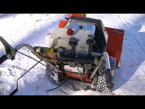 HOT ROD ARIENS 924013 SNOWBLOWER 18HP BRIGGS OPPOSED TWIN