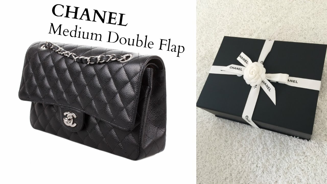44bbdec62a0e Chanel Unboxing Medium Classic Double Flap - YouTube