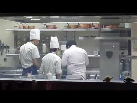 Chef Mauro Colagreco In The Kitchen At Mirazur In Menton, France
