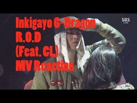 Inkigayo G-Dragon R.O.D (Feat. CL) MV Reaction