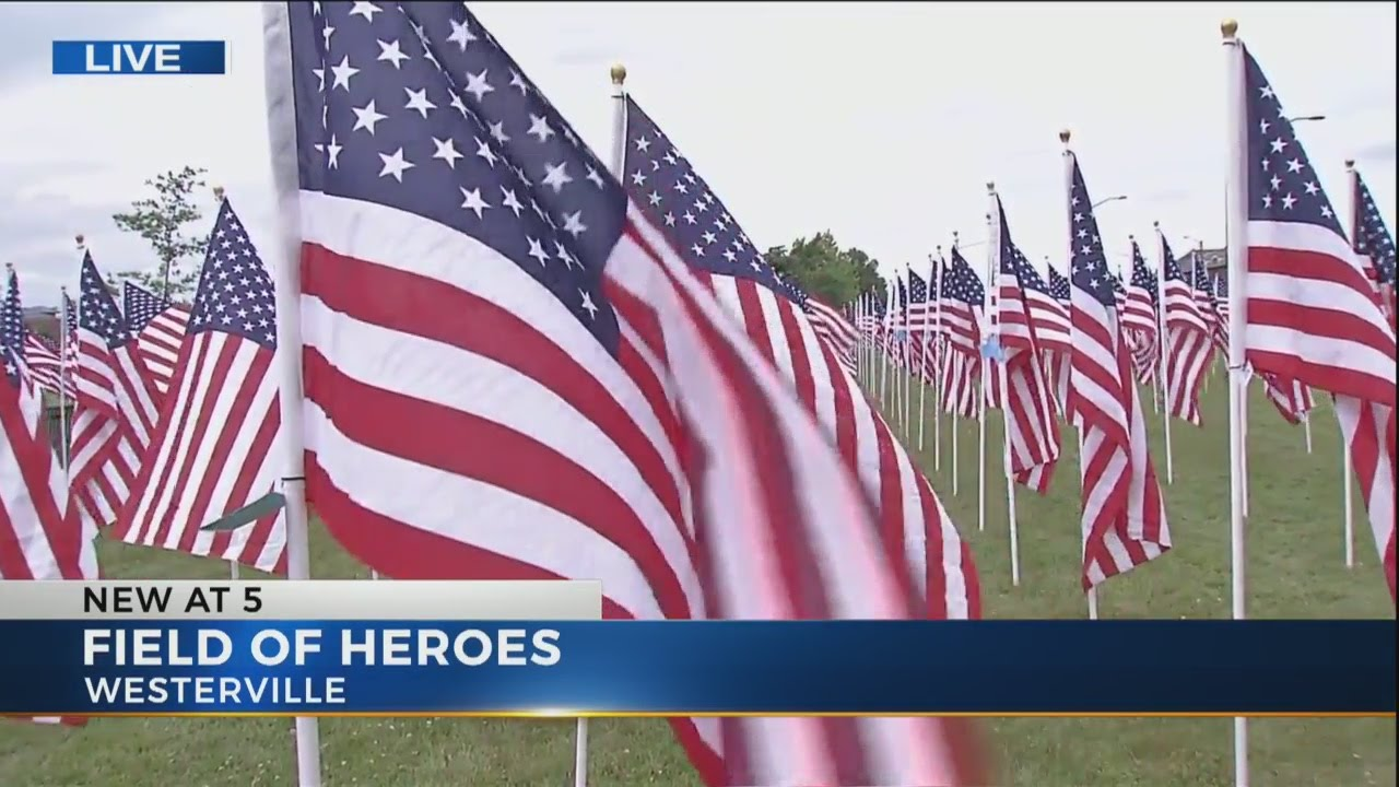 Thousands of flags honor veterans this Memorial Day at Westerville's Field  of Heroes