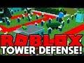 ROBLOX TOWER DEFENSE (TOWER BATTLES MINIGAME)