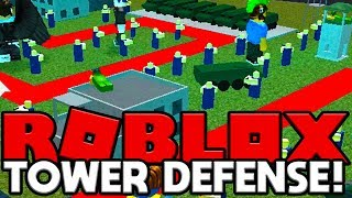 ROBLOX TOWER DEFENSE (TOWER BATTLES MINIGAME)