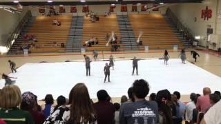 Brea Olinda High School Varsity Color Guard @ WGASC Championships 4/16/16