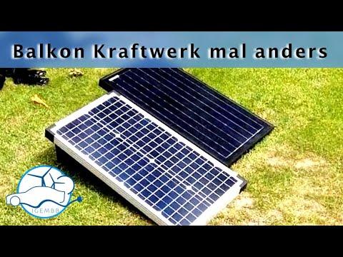 Solar-Balkon-Kraftwerk ohne Anmeldung & Umrüstung - Teil 1 -Die Vorstellung