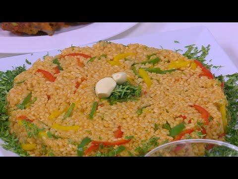 ارز بالثوم : نجلاء الشرشابى