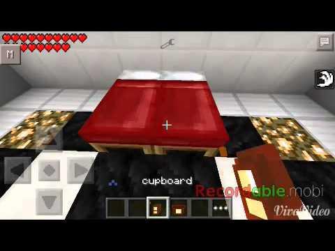 Mcpe mod:furniture by mitrish