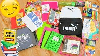 School Supplies Haul + GIVEAWAY // Back to School 2018