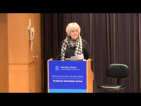 Second Century Lecture Series - Lecture by Professor Germaine Greer: Creativity and Gender