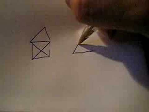 Draw This Symbol Without Raising Your Pen Up Youtube