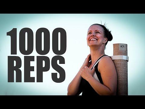 """1000 REPS WORKOUT"" - 1000 prenumeranter firar jag med 1000 repetitioner"
