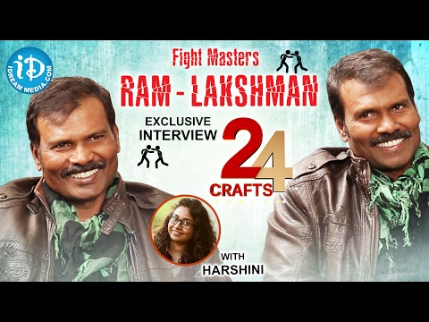 Fight Masters Ram Lakshman Exclusive Interview || 24 Crafts #1 || #311