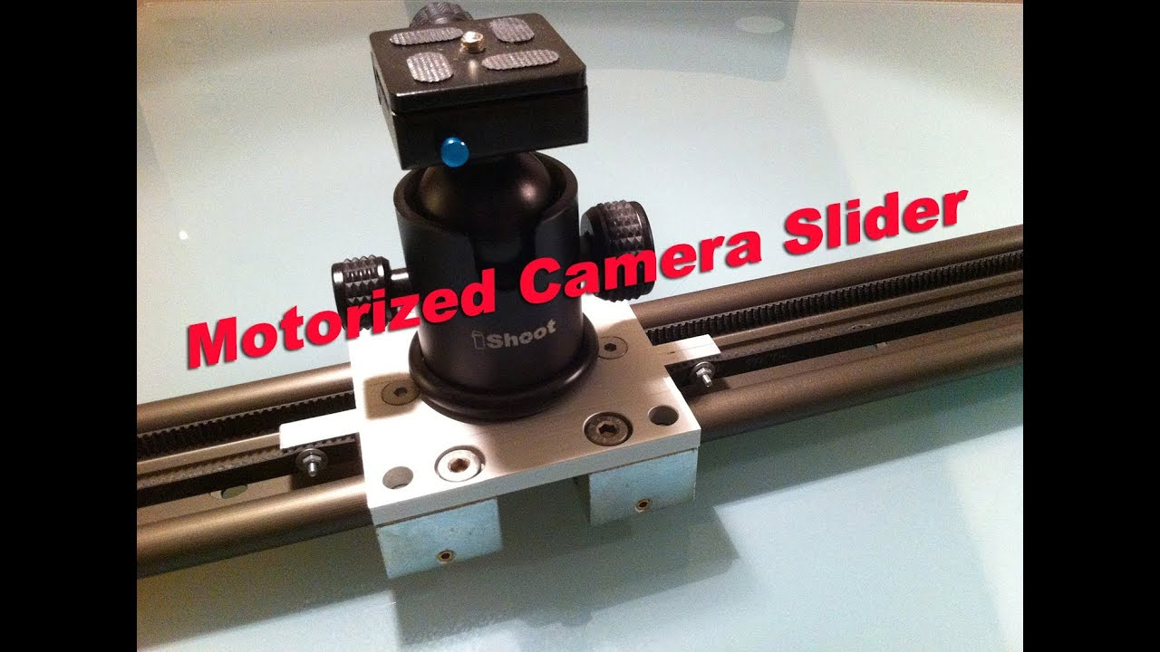 Motorized camera slider do it yourself youtube Motorized video slider