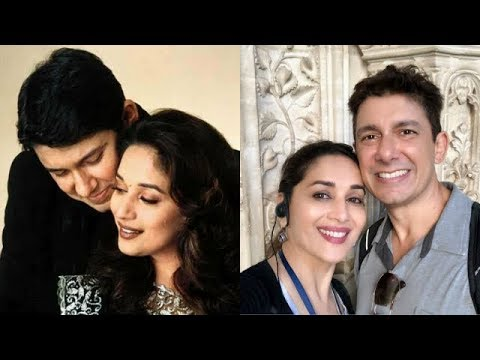Madhuri Dixit and Sriram Nene Best Moments | Madhuri Dixit and Doctor Nene Videos | Mango Bollywood