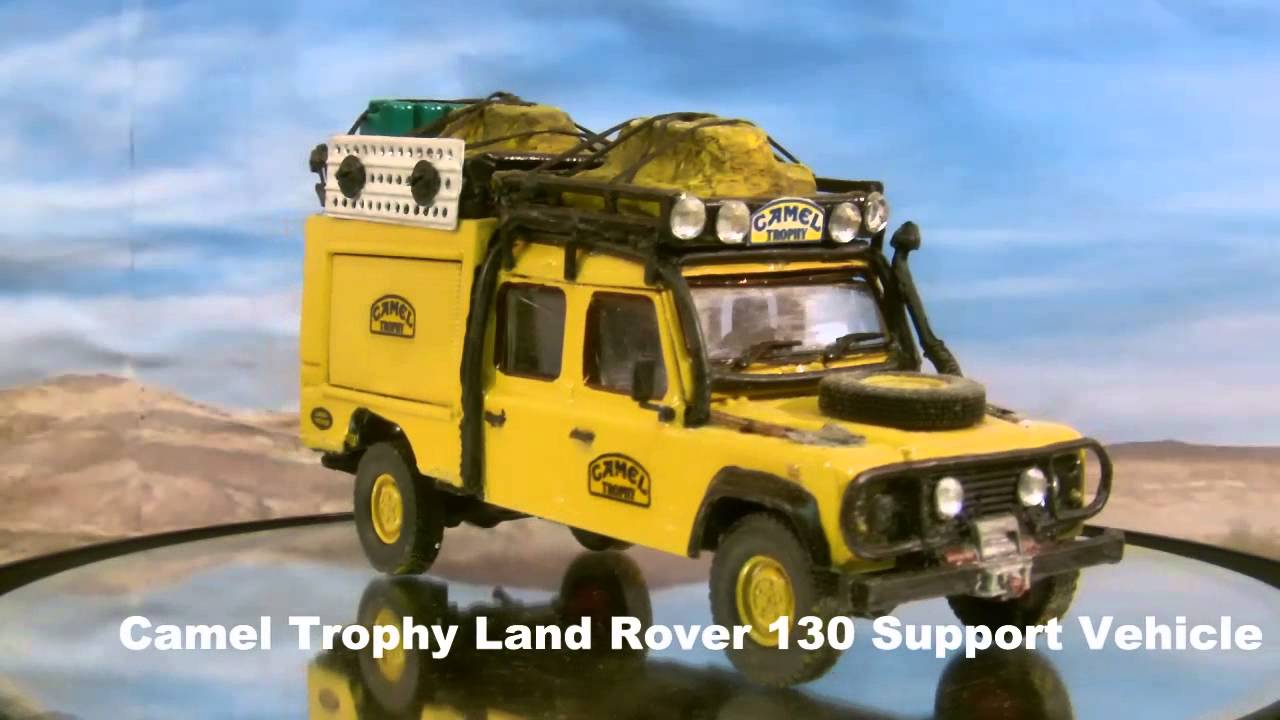 Camel Trophy Land Rover 130 Support Vehicle Custom Made