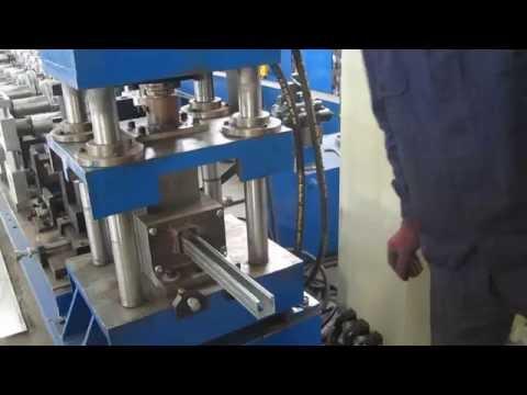 41 X41 & 41X 21 Strut Channel Roll Forming Line Maquina Perfiladoras, Máquina conformadora