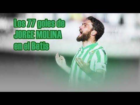 Jorge Molina - Todos sus goles en el Betis