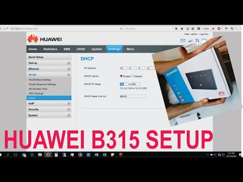 SOLVED: Only power light comes on on my Huawei B315 router