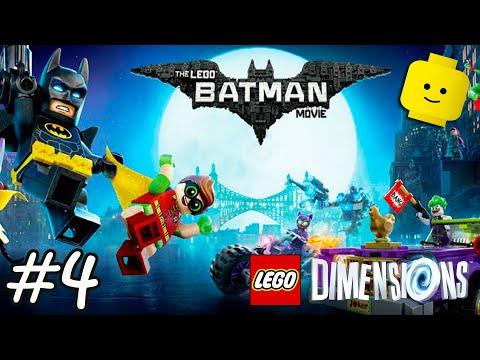 The LEGO Batman Movie Videogame - Batman Videos Games - LEGO Dimensions Part 4