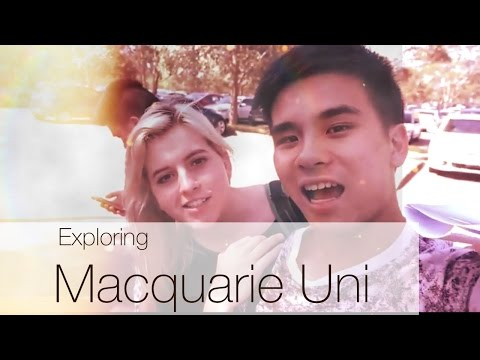 Getting lost at Macquarie Uni | Dennis Fang