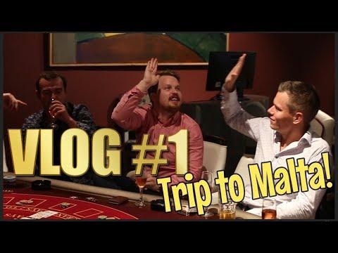 Vlog #1 - Land based casino in Malta!