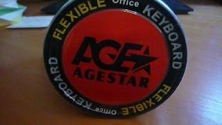 Обзор - Гибкая офисная клавиатура AGE