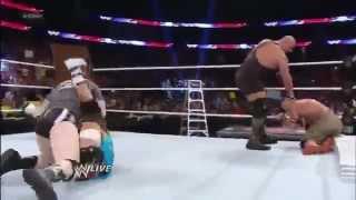 John Cena,Sheamus,Ryback & Team Hell No vs  The Shield,Big Show & Ziggler  Raw, Dec  10, 2012