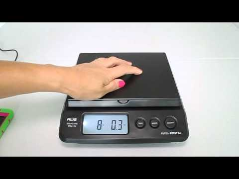Review Of American Weigh Scales Table Top Postal Scale, Black