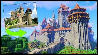 Medieval Castle Minecraft Timelapse