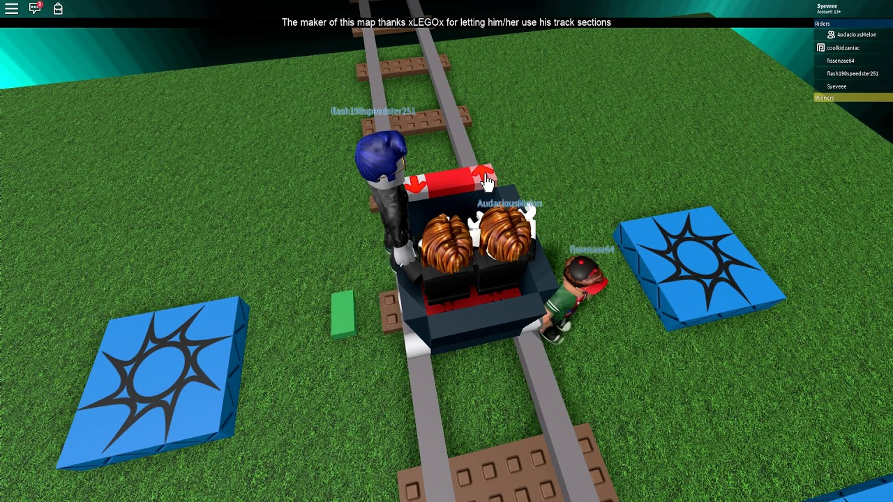 we played roblox