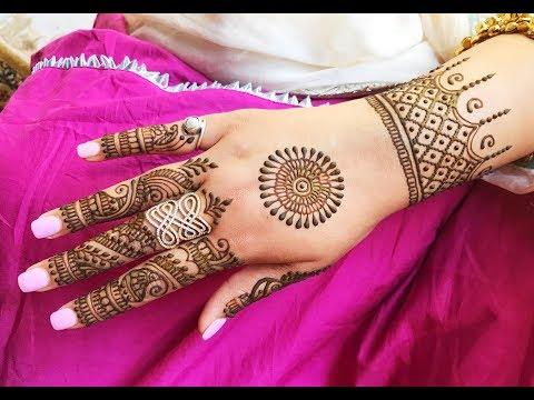 EID SPECIAL MEHNDI HENNA DESIGN FOR HANDS   LATEST BEST RAMADAN MEHENDI TO TRY