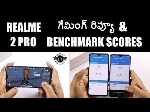 Realme 2 Pro Gaming Review, Benchmarks & heating test ll in telugu ll