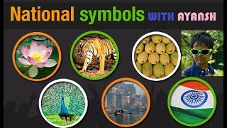 Learn National Symbol of India form small kid | With Ayansh | Indian National Symbols | GK for kids