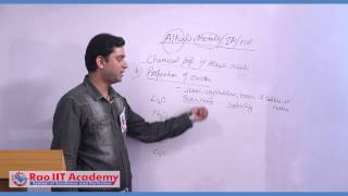 Physical & Chemicial Properties of Alkali Metals - IIT JEE Main and Advanced Chemistry Video Lecture