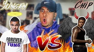 Yungen VS Chip | American Listens to UK Grime Beef #3 OMG (Diss Track Reaction) L Oopsy daisy RIDDIM