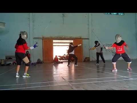 Tehnik dasar fencing (sabre)