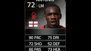 FIFA 14 IF ANTONIO 72 Player Review & In Game Stats Ultimate Team