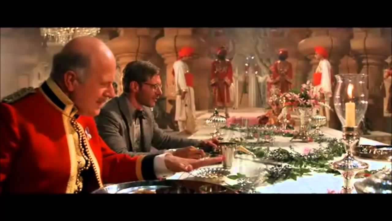 Indiana Jones Et Le Temple Maudit Le Repas Youtube