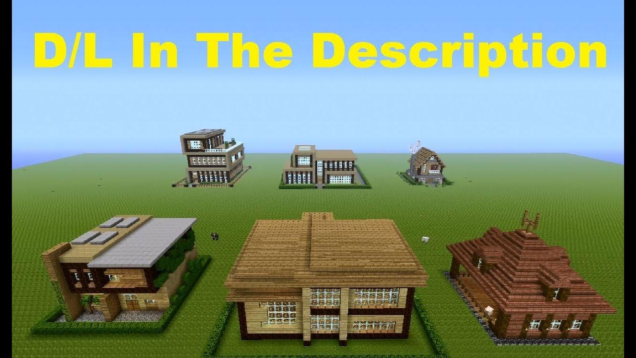 Minecraft 360  House World Download  House Round-up 3 World