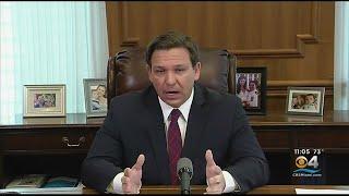 Gov. Ron DeSantis Issues Order For Tri-State Area Travelers To Self-Quarantine