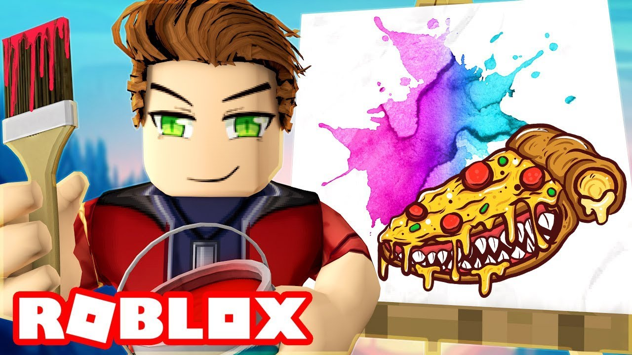 Can You Guess What We Re Drawing In Roblox Youtube