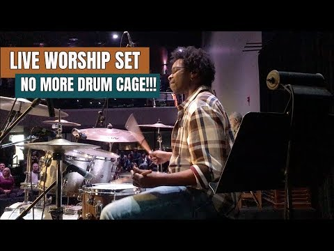 LIVE WORSHIP SET Drum Cam (And A Couple Fill Breakdowns) - 동영상