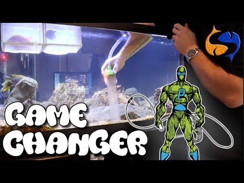 Easy Aquarium Maintenance, Best Aquarium Invention Ever, Python Water Changer