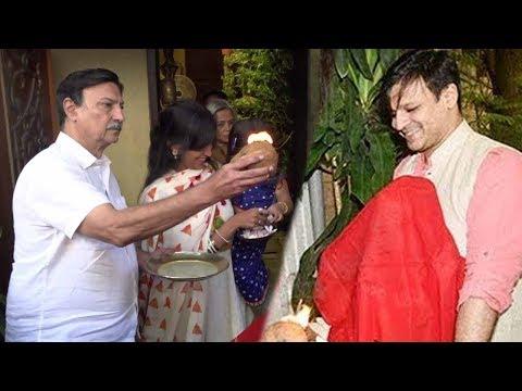 Vivek Oberoi Ganpati Celebration 2017