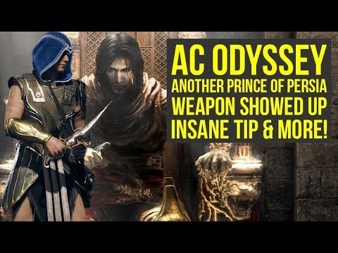 Assassin's Creed Odyssey NEW Prince Of Persia Weapon SHOWED UP, Big Fixes Coming & More (AC Odyssey) thumbnail