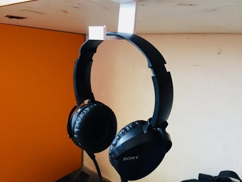 DIY Headphone Holder | Not even 1$, ALMOST FREE...